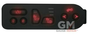 Red LED's for GM switches 2003-06 heated seats overhead console r climate 10 qty