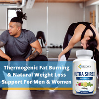 Ultra Shred - Fat Burner, Appetite Suppressant, Weight Loss, Thermogenic Capsule