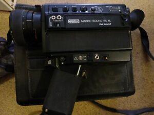 Eumig Makro Sound 65 XL Super8 Film Camera Super 8 Live German untested PA160