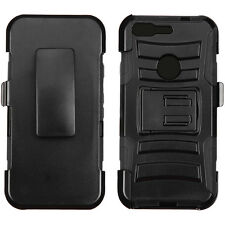 "3-Layer Holster Stand Cover Case GOOGLE Verizon Pixel Phone HTC Nexus S1 (5.0"")"