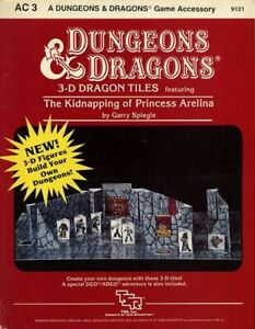 AC3 THE KIDNAPPING OF PRINCESS ARELINA EXC+! Dungeons Dragons D&D 9121 AC 3 TSR