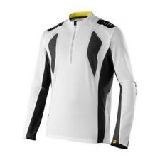 Maillot Mavic Stratos VTT blanc / noir Taille L manches longues
