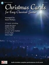Christmas Carols for Easy Classical Guitar Sheet Music Book and Audio 002501526