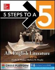 5 Steps to a 5 AP English Literature 2016, Cross-Platform Edition, Murphy, Barba