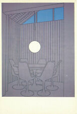 Dining Recess By Patrick Caulfield The Artist 1985 England Vintage Art Postcard