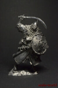 Tin soldiers figures Polish comrade of armored Cossacks, 17th century 54mm