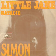 "SIMON - Little Jane (RARE 1970 NEDERPOP VINYL SINGLE 7"")"