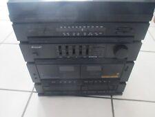 chaine hifi tourne-disques MID 1510 CD BRANDT lecteur cassettes audio