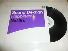 "SOUND DE-ZIGN - Happiness - 2001 UK 3-track 12"" Vinyl Single"