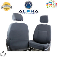 2017-2020 Volkswagen Amarok Ute Front Seat Cover Set with Free Console Lid Cover