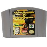 Command & Conquer Nintendo 64 N64 OEM Authentic War Video Game Cart Retro GREAT!