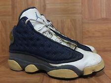 the best attitude e75b4 bddb9 RARE🔥 Nike Air Jordan XIII 13 OG 1997 Flint Gray French Blue Sz 6Y 134071