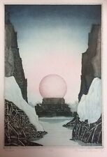 ORIGINAL SIGNED LIMITED EDITION ETCHING PRINT 30/40 ICE 1976