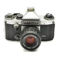 PRAKTICA SUPER TL CAMERA WITH M42 PENTACON AUTO 50mm f/1.8 LENS c.1968-76