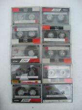 10 x used TDK D90 cassettes tape lot 4