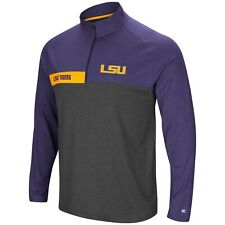 """LSU Colosseum Men's """"No Mercy"""" 1/4 Zip Wind Shirt Size:  Extra Large"""