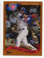 2002 Topps #232 WILLSON CONTRERAS Chicago Cubs BASEBALL CARD - 2020 Archives