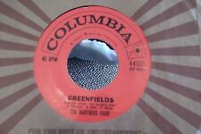 45=THE BROTHERS FOUR ANGELIQUE-O / GREENFIELDS ON COLUMBIA RECORDS