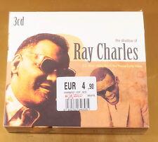 [AC-270] CD - THE SHADOW OF RAY CHARLES - 3CD - 2008 EU - OTTIMO