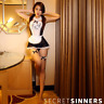 Womens Sexy Maid Outfit Seductive Bedroom Erotic Set Ladies French Maid UK