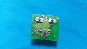 VAUXHALL VECTRA C SIGNUM 3 BUTTON REMOTE KEY NEW PCF7946 CHIP CIRCUIT BOARD ONLY