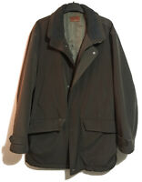 COLLEZIONE Mens Gents L QUALITY Jacket BROWN Autumn WINTER Classic Padded Coat