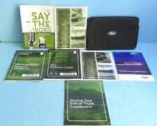 12 2012 Ford Escape owners manual with SYNC