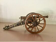 Antique Georgian Bronze Model of a Field Cannon and Carriage with Provenance