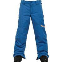 Burton Boys Snowboard Pants NEW Size XL Blue Cyclops DryRide Waterproof Snow