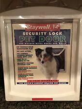 Dog Cat Pet Door Security Lock Staywell 14 Pet Wooden/Metal Doors and Walls NIB