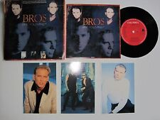 "BROS - ARE YOU MINE? - LIMITED EDITION POSTCARD PACK - 7"" 45 rpm vinyl record"