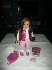 "American Girl Doll Truly Me #55 Brown Hair Green Eyes Freckles 18"" Laptop"
