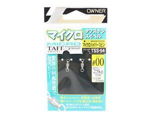 Owner TSS-54 Taff Swivel Micro Hyper Spin Size 00 (6189)