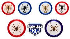 6 Stück Yoyo / Yo-Yo / JoJo / Jo-Jo Mit echten Insekten Geschenk Sammler Motive