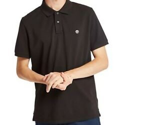 Timberland Men's Millers River Pique Polo Shirt Blue Navy Black White Red A237H