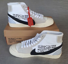Nike x Off-White x Blazer Mid  -- 9 UK, US 10, EU 44 - AA3832-100