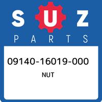 09140-16019-000 Suzuki Nut 0914016019000, New Genuine OEM Part