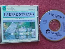 "The Relaxation Company ""Lakes & Streams"" CD By W.A Mathieu Solo Grand Piano RARE"