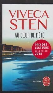 AU COEUR DE L'ETE Viveca Sten roman THRILLER