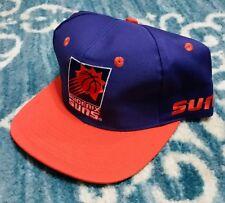 Vintage 90's OFFICIAL  NBA DEADSTOCK Snapback Hat Cap AJD PHOENIX SUNS NEW