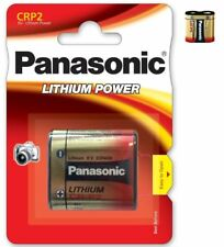 Battery special photo CRP2 6V lithium Panasonic