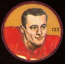 1963 CFL NALLEY'S POTATO FOOTBALL COIN #122 HARVEY WYLIE NM Calgary Stampeders