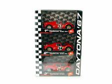 1/43 Brumm L/E 3 Car Set Ferrari 330P4/412P #23/24/26 1967 Daytona 24 Hrs 1/2/3