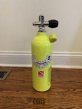 Catalina 13Cf Aluminum Pony Bottle Scuba Cylinder Tank with valve - Needs Hydro
