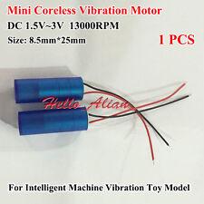 DC1.5V~3V 13000RPM Micro Vibration Vibrating Coreless Motor for Toy Vibrator DIY