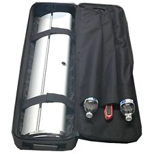 """53""""x13""""x5"""" Grey Travel Hard Bag Shipping Case for Retractable Banner Stand"""
