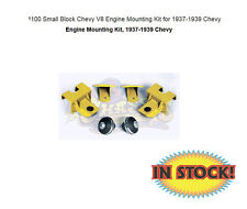 Small Block Chevy V8 Engine Mounting Kit for 1937-1939 Chevy - CP-1100