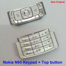 100% Genuine New Original Nokia N95 Keypad +Top Buttons Fascia Housing - Silver