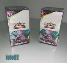 Pokemon 2 Display Scellé 18 Booster   harmonie Des esprits SL 11 neuf français