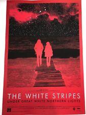 White Stripes Jack White Under Great White Northern Poster Lights 2009Art Print